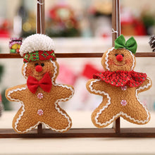 Load image into Gallery viewer, Christmas Christmas Tree Hanging Gingerbread Man