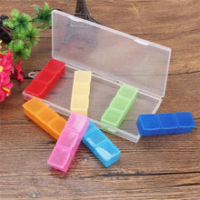 Load image into Gallery viewer, Colorful 21 Grids Medicine Pills Storage case