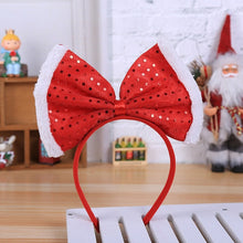 Load image into Gallery viewer, Head adornment Hot Christmas Headband Santa Xmas