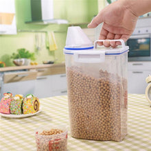 Load image into Gallery viewer, Large Capacity 2L Plastic Cereal Dispenser Storage