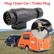 Load image into Gallery viewer, Plug 13-pin Car / Trailer Plug 12V Trailer