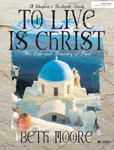 TO LIVE IS CHRIST MEMBER BOOK
