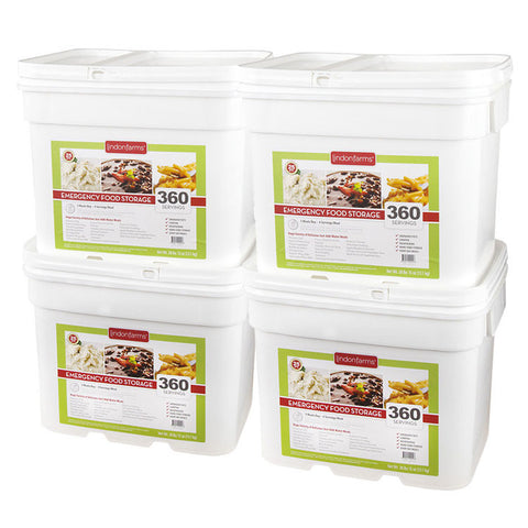 4 Month Food Storage for 1 Person (1,440 Servings)