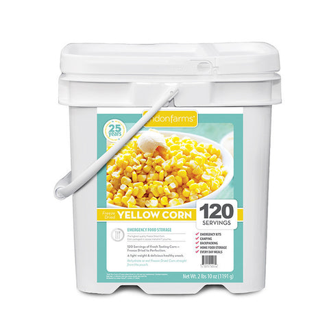 Freeze Dried Corn Food Storage (120 Servings)