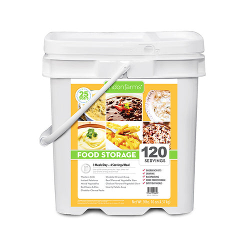 Entree Food Storage Bucket (120 Servings)