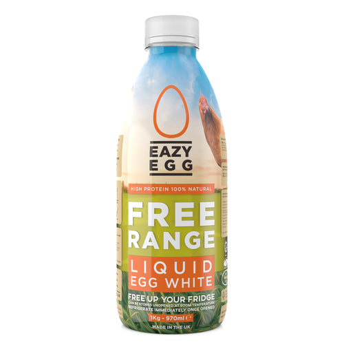 EazyEgg Free Range Liquid Egg White - 1KG Bottle