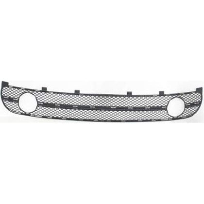 GRILLE LOWER MATTE-BLACK W/FOG LAMP HOLE 01-05
