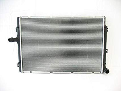 AUDI A3 06-13 RADIATOR (2822) 2.0L GAS/ DIESEL TURB W/INLET AND OUTLET ON OPPOSITE TANKS