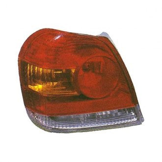 TOYOTA ECHO 03-05 DRIVER SIDE TAIL LAMP SEDAN,CPE