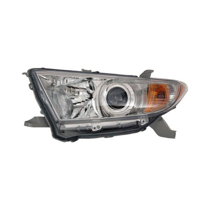 TOYOTA HIGHLANDER 11-13 HEAD LAMP DRIVER SIDE EXCLUDE HYB HQ