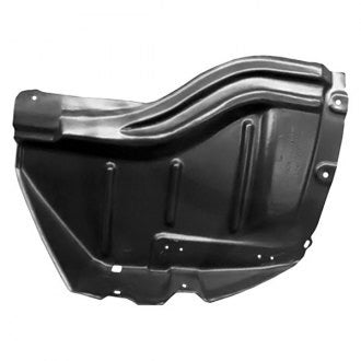 TOYOTA TUNDRA PICKUP 07-13 FRONT DRIVER SIDE FENDER LINER WITH STEEL BUMPER (FRONT SECTION WITH SR5)