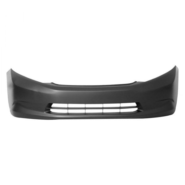 HONDA CIVIC 2012 SDN USA BUILT LX MODEL FRONT BUMPER PRIMED WITHOUT FOG LAMP HOLE FIT ALL DX/ HF