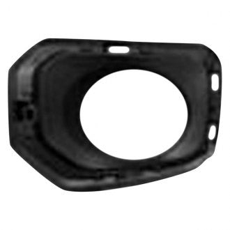 TOYOTA TACOMA PICKUP 16-19 AWD/RWD DRIVER SIDE FOG LAMP BEZEL TEXTURED BLACK WITH CHROME BEZEL