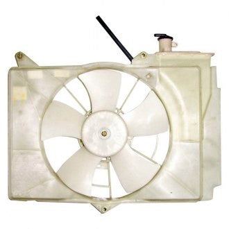TOYOTA ECHO 00-05 RAD FAN ASSEMBLY SEDAN,CPE