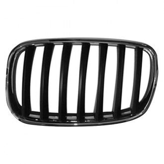 BMW X5 07-13 // X6 08-14 DRIVER SIDE GRILLE CHROME BLACK