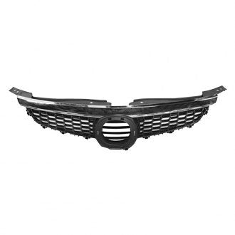 MAZDA CX9 07-09 FRONT GRILLE CHROME BLACK