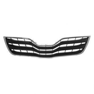 TOYOTA CAMRY 10-11 FRONT GRILLE BLACK/CHROME XLE MODEL