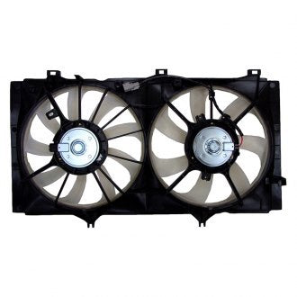 TOYOTA CAMRY 10-11 COOLING FAN ASSEMBLY WITH TOW PKG 2.5L