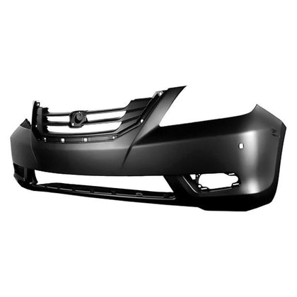 HONDA ODYSSEY 08-10 FRONT BUMPER PRIMED TOURING MODELS WITH FOG LIGHT HOLE CAPA