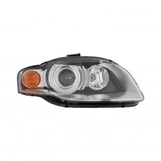 AUDI A4-S4 05-08 // A4 - S4 CABRIO CONVERTIBLE 07-09 PASSENGER SIDE HEAD LAMP HID WITHOUT CURVE HQ