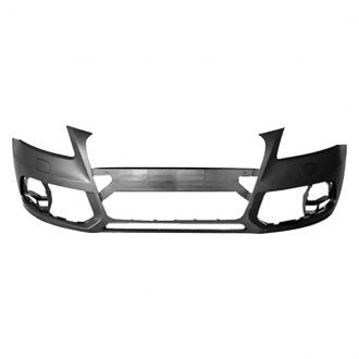 AUDI Q5 13-17 FRONT BUMPER WITH HEADLIGHT WASHER HOLE / WITHOUT SENSOR HOLE / WITHOUT S-LINE MODEL PRIMED CAPA