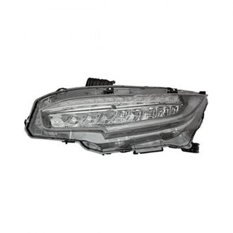 HONDA CIVIC SDN,CPE 16-19/HB 17-19 HEAD LAMP LED DRIVER SIDE EX,EXL,EXT,MODEL HQ