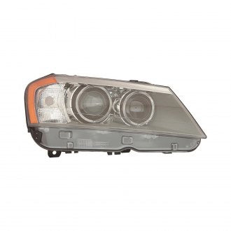 BMW X3 PASSENGER SIDE HEADLIGHT XENON WITHOUT ADAPTIVE LAMP HQ
