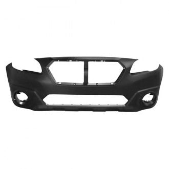 SUBARU LEGACY OUTBACK 15-17 FRONT BUMPER PRIMED UPPER TEXTURED LOWER PREMIUM PKG