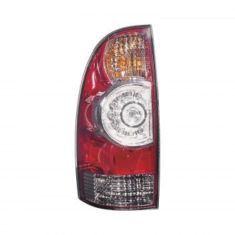 TOYOTA TACOMA AWD RWD 05-15 DRIVER SIDE TAIL LAMP LED TYPE WITH CLEAR CENTER LENS HQ