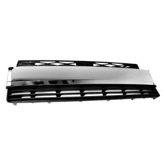 TOYOTA 4RUNNER 14-19 FR GRILLE LOWER MATT DARK GRAY WITH CHROME TRIM