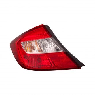 HONDA CIVIC 2012 SDN DRIVER SIDE TAIL LAMP