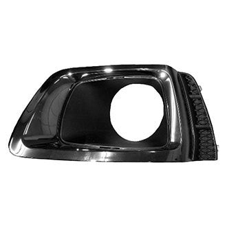 SUBARU FORESTER 17-18 PASSENGER SIDE FOG LAMP BEZEL 2.0L XT MODEL BLACK CHROME