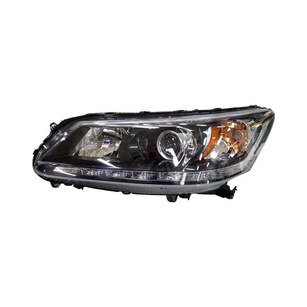 HONDA ACCORD 13-15 SDN LH HEAD LAMP HALOGEN W/ DRL 3.5L EX-L model