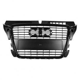 AUDI A3 09-13 GRILLE PAINTED BLACK