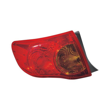 TOYOTA COROLLA 09-10 DRIVER SIDE TAIL LAMP JAPAN BUILT HQ
