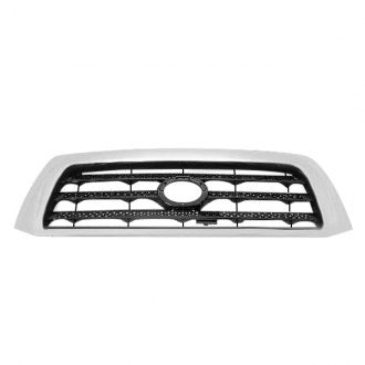 TOYOTA TUNDRA PICKUP 07-09 FRONT GRILLE SR5 MODEL BLACK WITH CHROME FRAME