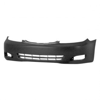TOYOTA CAMRY 02-04 FRONT BUMPER PRIMED SE,XLE MODE WITH FOG LIGHT HOLE USA BUILT CAPA