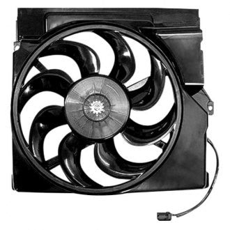 HONDA PILOT 09-15 AWD 3.5L w/ AC RADIATOR FAN ASSEMBLY