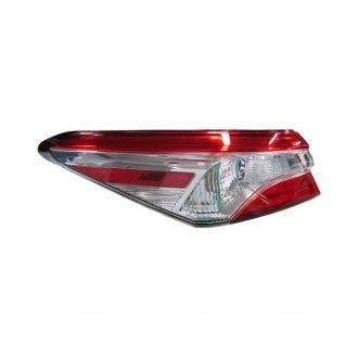 TOYOTA CAMRY 18-19 DRIVER SIDE TAIL LAMP L,LE MODEL USA BUILT W/O SMOKE TINT HQ