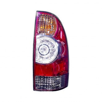 TOYOTA TACOMA AWD RWD 05-15 PASSENGER SIDE TAIL LAMP LED TYPE WITH CLEAR CENTER LENS HQ
