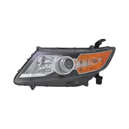HONDA ODYSSEY 14-17 DRIVER SIDE HEAD LAMP HALOGEN HQ