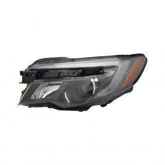 HONDA RIDGELINE 17-19 // HONDA PILOT 16-19 // DRIVER SIDE HEAD LAMP HALOGEN WITH LED DAYTIME RUNNING LAMP AUTO ON/OFF HQ
