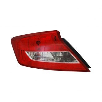 HONDA CIVIC 12-13 CPE DRIVER TAIL LAMP