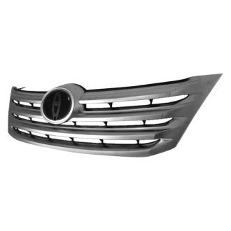 TOYOTA AVALON 11-12 FRONT GRILLE CHROME PTD BLACK WITH OUT MARK