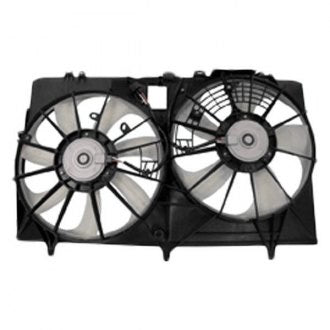 TOYOTA SIENNA 11-12 COOLING FAN ASSEMBLY 2.7L 4CYL