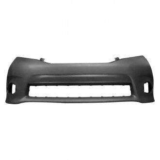 TOYOTA SIENNA 11-17 FRONT BUMPER COVER PRIMED SE MODEL WITH TEXTURED CENTER AREA WITH ROUND FOG LAMP HOLE CAPA