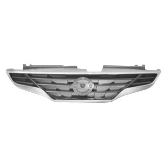 NISSAN ALTIMA COUPE 08-13 FRONT GRILLE CHROME BLACK