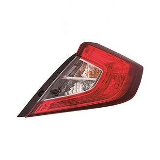 HONDA CIVIC 16-19 SDN PASSENGER SIDE TAIL LAMP CAPA