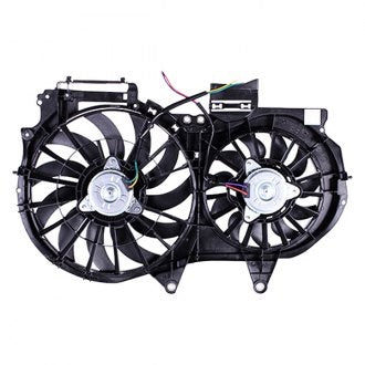 AUDI A4 02-08 // A4 CABRIO CONVERTIBLE 03-06 RADIATOR FAN ASSEMBLY 1.8L/ 2.0L