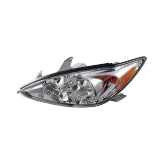 TOYOTA CAMRY 02-04 DRIVER SIDE HEADLIGHT LE,XLE MODEL HQ